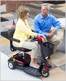 Easy to Use - Go-Go Travel Mobility, Go-Go LX with CTS Suspension